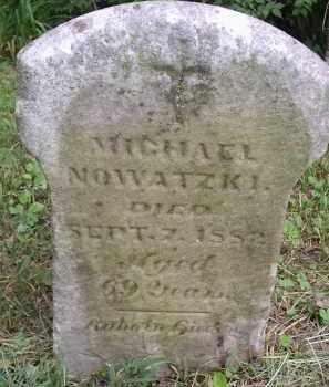NOWATZKI, MICHAEL - Hamilton County, Ohio | MICHAEL NOWATZKI - Ohio Gravestone Photos