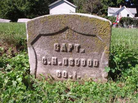 OSGOOD, G.H. - Hamilton County, Ohio | G.H. OSGOOD - Ohio Gravestone Photos