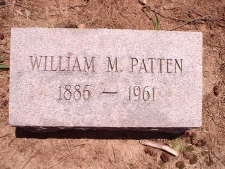 PATTEN, WILLIAM M. - Hamilton County, Ohio | WILLIAM M. PATTEN - Ohio Gravestone Photos