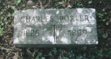 PORTER, CHARLES - Hamilton County, Ohio | CHARLES PORTER - Ohio Gravestone Photos