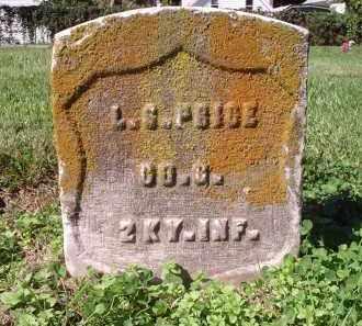 PRICE, L.G. - Hamilton County, Ohio   L.G. PRICE - Ohio Gravestone Photos