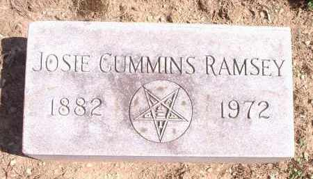 RAMSEY, JOSIE - Hamilton County, Ohio | JOSIE RAMSEY - Ohio Gravestone Photos