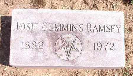 CUMMINS RAMSEY, JOSIE - Hamilton County, Ohio | JOSIE CUMMINS RAMSEY - Ohio Gravestone Photos