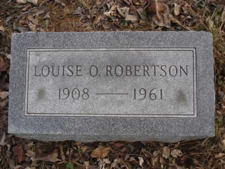ROBERTSON, LOUISE O. - Hamilton County, Ohio | LOUISE O. ROBERTSON - Ohio Gravestone Photos