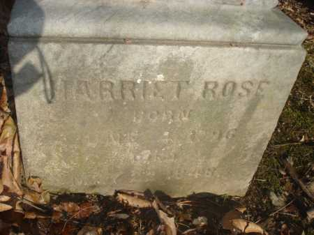 ROSE, HARRIETT - Hamilton County, Ohio | HARRIETT ROSE - Ohio Gravestone Photos