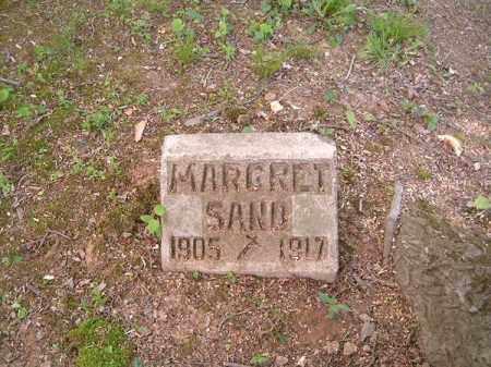 SAND, MARGARET - Hamilton County, Ohio | MARGARET SAND - Ohio Gravestone Photos