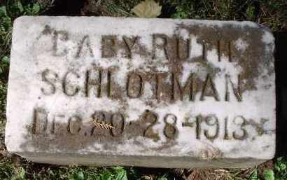SCHLOTMAN, RUTH - Hamilton County, Ohio | RUTH SCHLOTMAN - Ohio Gravestone Photos