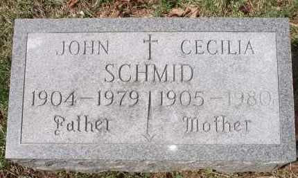 SCHMID, JOHN - Hamilton County, Ohio | JOHN SCHMID - Ohio Gravestone Photos