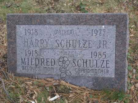 SCHULZE, MILDRED - Hamilton County, Ohio | MILDRED SCHULZE - Ohio Gravestone Photos
