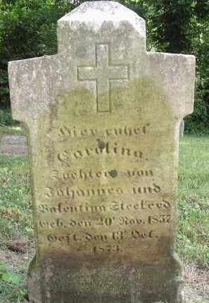 STECKERT, CAROLINE - Hamilton County, Ohio | CAROLINE STECKERT - Ohio Gravestone Photos