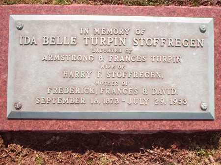 TURPIN STOFFREGEN, IDA - Hamilton County, Ohio | IDA TURPIN STOFFREGEN - Ohio Gravestone Photos
