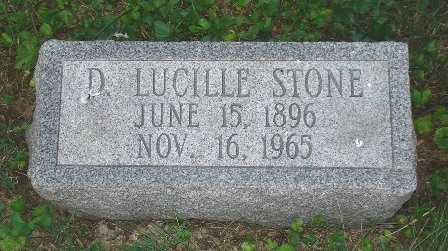 STONE, D. LUCILLE - Hamilton County, Ohio | D. LUCILLE STONE - Ohio Gravestone Photos