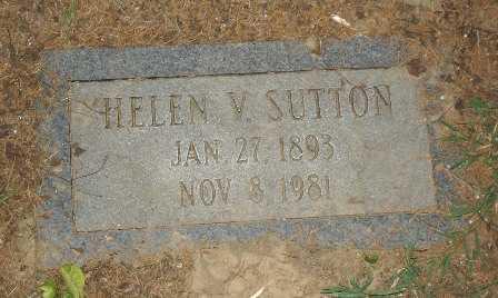 SUTTON, HELEN V. - Hamilton County, Ohio | HELEN V. SUTTON - Ohio Gravestone Photos