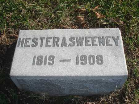 SWEENEY, HESTER A. - Hamilton County, Ohio | HESTER A. SWEENEY - Ohio Gravestone Photos