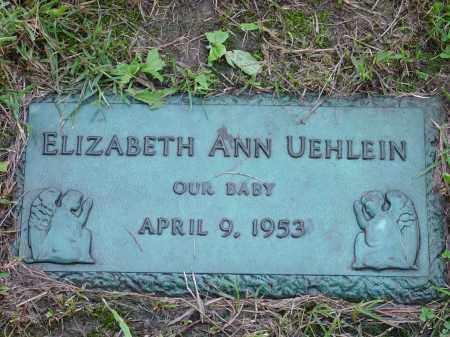 UEHLEIN, ELIZABETH - Hamilton County, Ohio | ELIZABETH UEHLEIN - Ohio Gravestone Photos