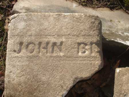 BE?????, JOHN - Hamilton County, Ohio | JOHN BE????? - Ohio Gravestone Photos