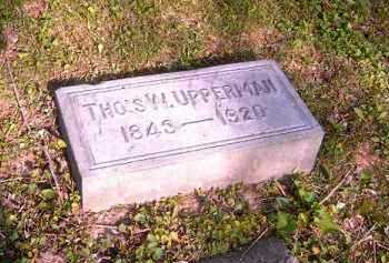 UPPERMAN, THOS  W - Hamilton County, Ohio | THOS  W UPPERMAN - Ohio Gravestone Photos