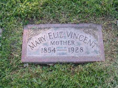 LAWERENCE VINCENT, MARY ELIZIBETH - Hamilton County, Ohio | MARY ELIZIBETH LAWERENCE VINCENT - Ohio Gravestone Photos