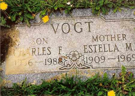 VOGT, ESTELLA M. - Hamilton County, Ohio | ESTELLA M. VOGT - Ohio Gravestone Photos