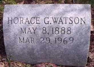 WATSON, HORACE G. - Hamilton County, Ohio | HORACE G. WATSON - Ohio Gravestone Photos
