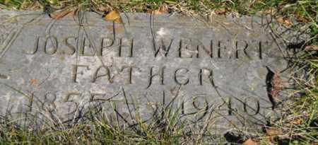 WENERT, JOSEPH - Hamilton County, Ohio | JOSEPH WENERT - Ohio Gravestone Photos
