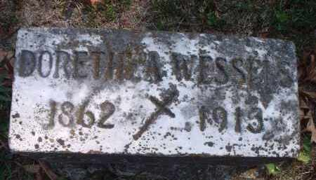 WESSELS, DORETHEA - Hamilton County, Ohio | DORETHEA WESSELS - Ohio Gravestone Photos