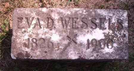 WESSELS, EVA D. - Hamilton County, Ohio | EVA D. WESSELS - Ohio Gravestone Photos