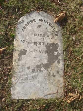 WHITAKER, JOSHUE - Hamilton County, Ohio | JOSHUE WHITAKER - Ohio Gravestone Photos