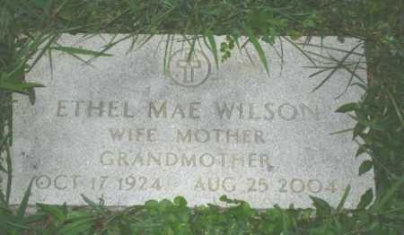 WILSON, ETHEL MAE - Hamilton County, Ohio | ETHEL MAE WILSON - Ohio Gravestone Photos
