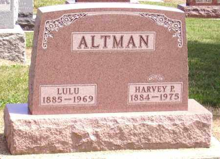 ALTMAN, LULU - Hancock County, Ohio | LULU ALTMAN - Ohio Gravestone Photos
