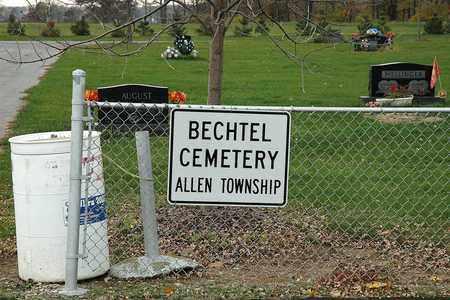 BECHTEL, CEMETERY - Hancock County, Ohio | CEMETERY BECHTEL - Ohio Gravestone Photos