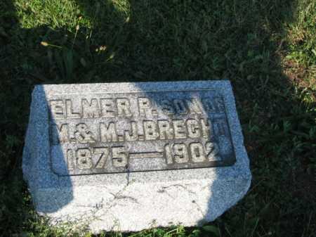 BRECHT, ELMER - Hancock County, Ohio | ELMER BRECHT - Ohio Gravestone Photos