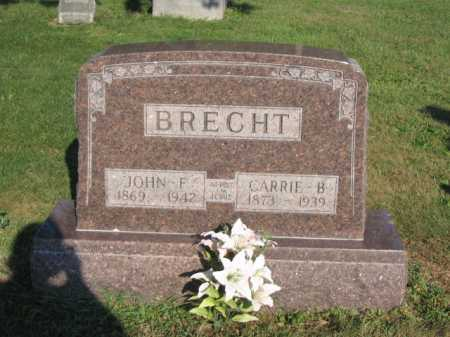 BRECHT, CARRIE - Hancock County, Ohio | CARRIE BRECHT - Ohio Gravestone Photos