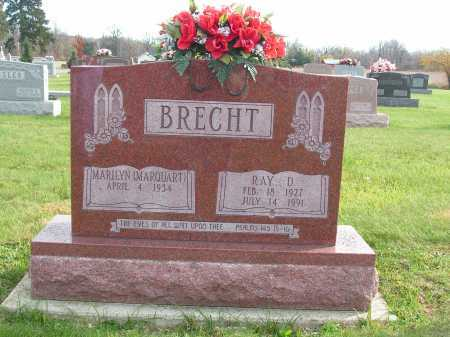 BRECHT, MARILYN - Hancock County, Ohio | MARILYN BRECHT - Ohio Gravestone Photos