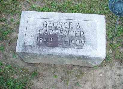 CARPENTER, GEORGE A. - Hancock County, Ohio | GEORGE A. CARPENTER - Ohio Gravestone Photos
