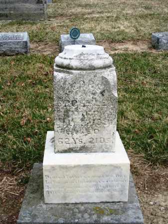 CROSSLEY, GEORGE - Hancock County, Ohio | GEORGE CROSSLEY - Ohio Gravestone Photos