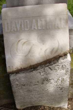 DAVID, ALTMAN - Hancock County, Ohio | ALTMAN DAVID - Ohio Gravestone Photos