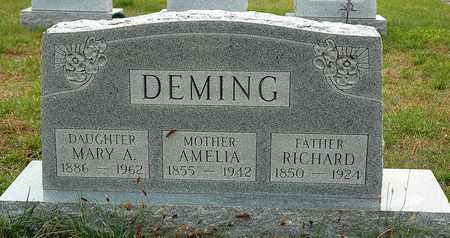 DEMING, MARY A. - Hancock County, Ohio | MARY A. DEMING - Ohio Gravestone Photos
