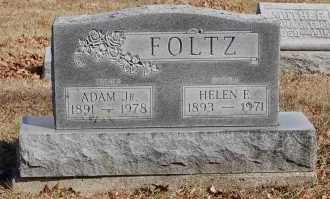 FOLTZ, HELEN ELNOR - Hancock County, Ohio | HELEN ELNOR FOLTZ - Ohio Gravestone Photos