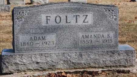 FOLTZ, ADAM - Hancock County, Ohio | ADAM FOLTZ - Ohio Gravestone Photos
