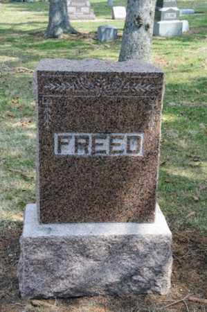 FREED, BENJAMIN FRANKLIN - Hancock County, Ohio | BENJAMIN FRANKLIN FREED - Ohio Gravestone Photos
