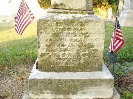 HENDERSON, EBENEZER - Hancock County, Ohio | EBENEZER HENDERSON - Ohio Gravestone Photos