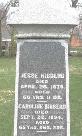 HIBBERD, JESSE - Hancock County, Ohio | JESSE HIBBERD - Ohio Gravestone Photos