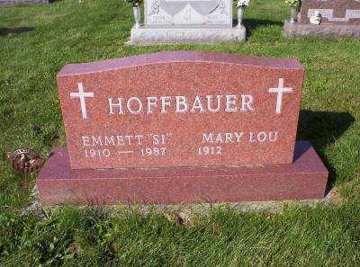 HOFFBAUER, MARY LOU - Hancock County, Ohio | MARY LOU HOFFBAUER - Ohio Gravestone Photos