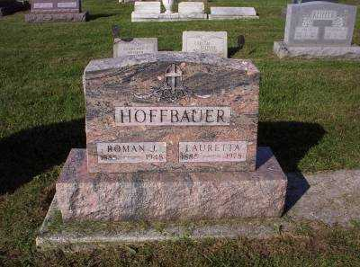 HOFFBAUER, LAURETTA - Hancock County, Ohio | LAURETTA HOFFBAUER - Ohio Gravestone Photos