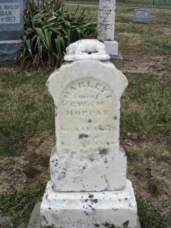 HOPPAS, CHARLEY E - Hancock County, Ohio | CHARLEY E HOPPAS - Ohio Gravestone Photos
