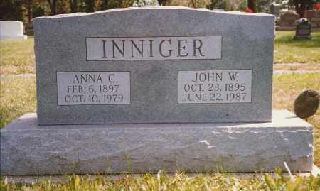 INNIGER, JOHN/JOHANN - Hancock County, Ohio | JOHN/JOHANN INNIGER - Ohio Gravestone Photos