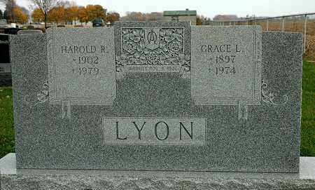 LYON, GRACE L. - Hancock County, Ohio | GRACE L. LYON - Ohio Gravestone Photos