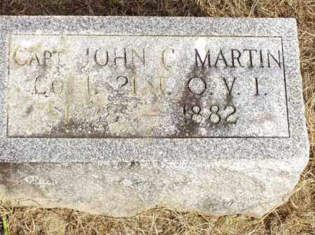 MARTIN, JOHN C. - Hancock County, Ohio | JOHN C. MARTIN - Ohio Gravestone Photos
