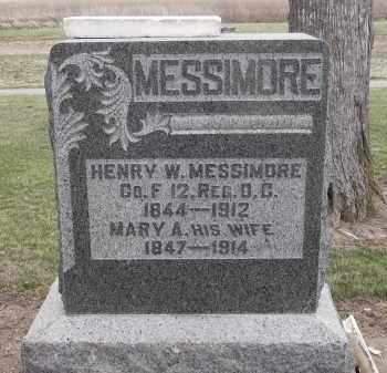 MESSIMORE, MARY - Hancock County, Ohio | MARY MESSIMORE - Ohio Gravestone Photos